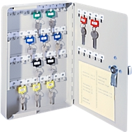 Sleutelkast, elektronisch slot, 46 haken, lichtgrijs