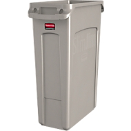 Slim Jim® Abfallbehälter, 87 Liter, beige