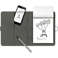 Smart Folio Wacom Bamboo Spark, mit Gerätefach, schwarz, mit Gadget Pocket