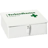 SÖHNGEN® Betriebsverbandkasten KIEL, Stahlblech, weiß, mit Füllung nach DIN 13157