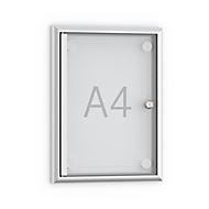 Softline ondiep informatiebord MSK1, deur zonder frame, 1 x A4