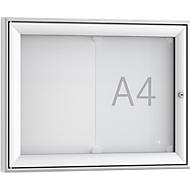 Softline Schaukasten WSM FSK 2, ESG Glas, für 2x DIN A4 Aushänge, Querformat