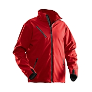 Softshell Jacke Jobman 1201 PRACTICAL, rot, Polyester I Elastan, L