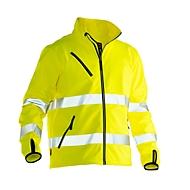 Softshell Jacke Jobman 1202 PRACTICAL, Hi-Vis, EN ISO 20471 Klasse 3, gelb, Polyester, M