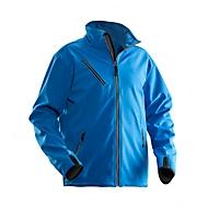 Softshell-jas Jobman 1201 PRAKTISCH, blauw, polyester/elasthaan, L