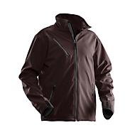 Softshell-jas Jobman 1201 PRAKTISCH, bruin, polyester/elasthaan, S