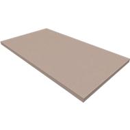 Sokkel SOLUS PLAY, voor vleugeldeuren/kasten SOLUS PLAY, B 800 x D 400 x H 35 mm, stone grey