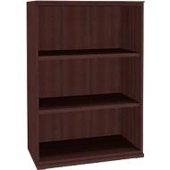 SOLUS boekenkast, 3 OH, B 800 x D 420 x H 1123 mm, ahorn-Brazil