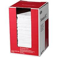 Sontara® EC crêpe poetsdoeken, wit, 1000 doeken/doos