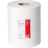 Sontara® EC Krepp Wischtücher, weiß, 400 Blatt/Rolle