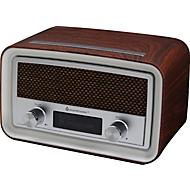Soundmaster DAB+/UKW-Uhrenradio, PLL-Radio-Tuner, 10 Festsenderspeicher