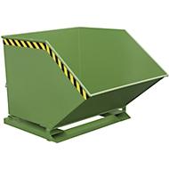 Späne-Kippmulde SKK 1000, grün