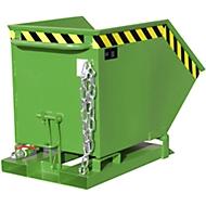 Späne-Kippmulde SKK 250, grün
