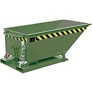 Späne-Kippmulde SKN 250, grün