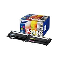 Sparpaket SAMSUNG CLT-P406C Tonerkassetten cyan, magenta, gelb, schwarz