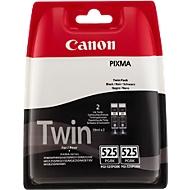 Sparset 2 Stück Canon Tintenpatronen PGI-525BK Twin Pack schwarz