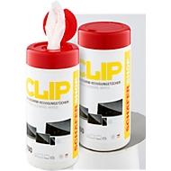 Sparset CLIP Bildschirm-Reinigungstücher, 2 Dosen