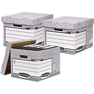 Sparset Fellowes Archivboxen Bankers Box®, 20 Stück + gratis 10 Stück