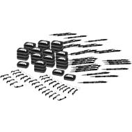 Sparset Journey, 120-tlg., Kugelschreiber, Starmint, Flaschenöffner, inkl. Lasergravur & allen Grundkosten, schwarz
