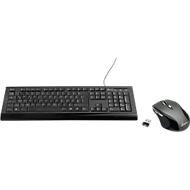 SPARSET MediaRange Standard Tastatur MROS101 + 5-Tasten Funkmaus MROS203