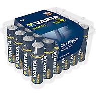 Sparset VARTA Batterien Energy, Mignon AA, 1,5 V, 24 Stück