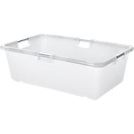 Speciale container, met aluminium frame, hoekig, 61 l