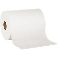 Speciale poetsdoek, wit, 2-laags, 2 wielen