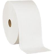 Speciale poetsdoek, wit, 3-laags, 2 rollen