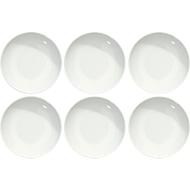 Speiseteller Solea tief, Ø 205 mm, uni, weiß, Porzellan, 6 Stück