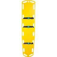 Spine-board, conform DIN EN 1865, belastbaar tot 150 kg, beschermt de patiënt tijdens transport