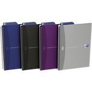 Spiralbuch Oxford Office Essentials B5 Softcover, 90 g/m², 90 Blatt, SCRIBZEE® kompatibel, punktkariert, 5 Stück