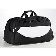 Sporttasche Champ, schwarz/weiß