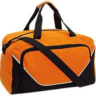 Sporttasche Jordan. orange/schwarz