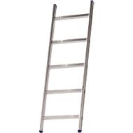 Sprossenanlegeleiter Lila-Serie, 5 Stufen
