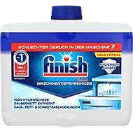 Spülmaschienenreiniger Finish, gegen Fett, Kalk & Schmutz, beseitigt unangenehme Gerüche & pflegt die Maschine, Flasche mit 250 ml