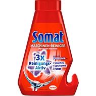 Spülmaschienenreiniger Somat, 3-fach-Aktivformel gegen Fett & Kalk, pflegt Maschieneninneres, Sprüharme & Filter, Flasche mit 250 ml