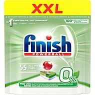 Spülmaschinentabs Finish All in 1 Regular, mit Klarspül- und Salzfunktion, 55 Tabs