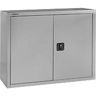 SSI Schäfer opzetkast, afsluitbaar, hoogte 800 mm, breedte 800 mm, aluminium zilver