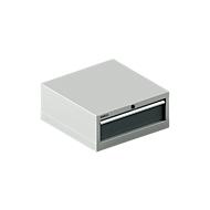 SSI SCHÄFER Schubladenschrank 27-27, 1 Schub, bis 75 kg, B 564 x T 572 x H 250 mm, anthrazitgrau/lichtgrau