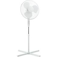 Staande ventilator, 3 snelheidsniveaus, in hoogte verstelbaar, met rotor Ø 400 mm, 40 W, wit
