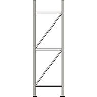 Staanderframe, voor stellingsysteem WR 600, H 2500 x D 600 mm