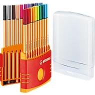 STABILO® Fineliner Point 88, in Kunststoffbox, 20 Stück
