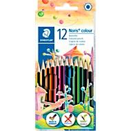 STAEDTLER Crayons de couleurs Noris 12 pièces
