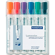 STAEDTLER Whiteboardmarker Lumocolor®, 2-5 mm, 6er Set