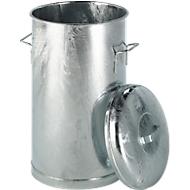 Stahlblechtonne, 60 l, Ø 380 x H 630 mm