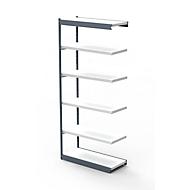 Stahlregal PROGRESS 2000, Regalfeld, ohne Rückwand, H 2250 x B 750 x T 300 mm, Rahmen silber