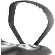 Standard-Ringarmlehnen für Drehstuhl Sintec 160