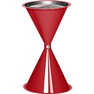 Standascher, aus Kunststoff, rot