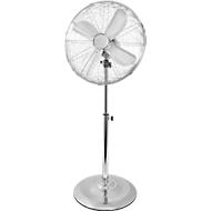 Standventilator, Ø Rotor 400 mm, 3 Stufen, Überhitzungsschutz, höhenverstellbar, B 440 x T 410 x H 1070-1300 mm