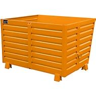 Stapelbare kiepbak BSK 150, oranje